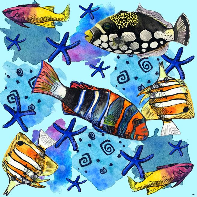 Reef Fish Medley