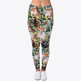 Parrot Design leggings