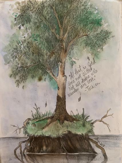 Tree I drew on a sad day