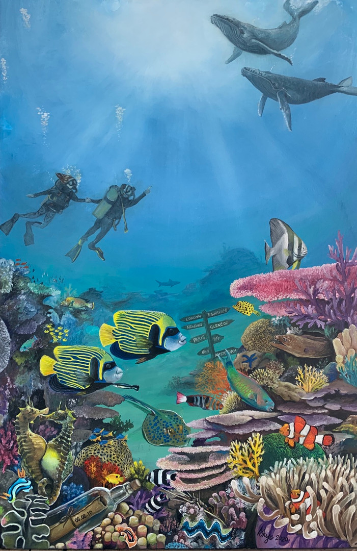 """Diving in"""