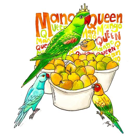 Ivy the Mango queen