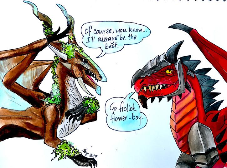 Sage and Drakius