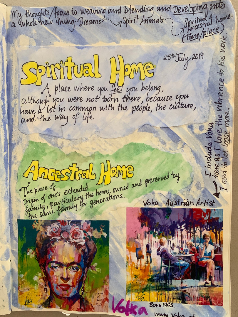 Spiritual vs Ancestral Homes
