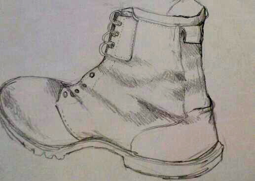 Study of a boot