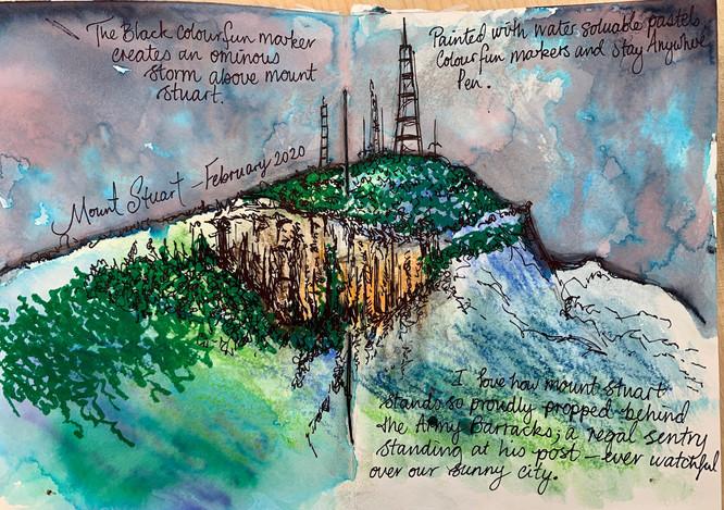 Mount Stuart Sketch #1