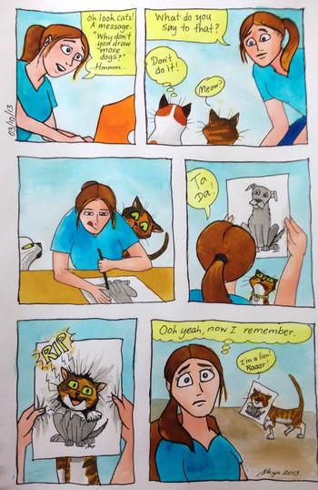 Cat comic #5