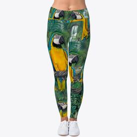 Macaw leggings