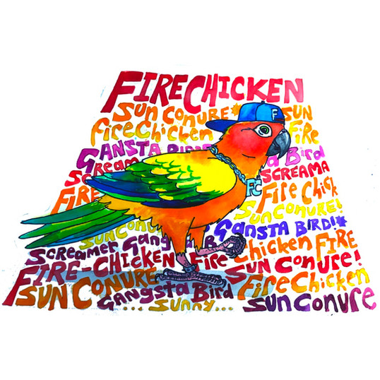 Fire chicken Chesney