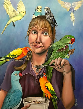 Self Portrait with Birds.JPG