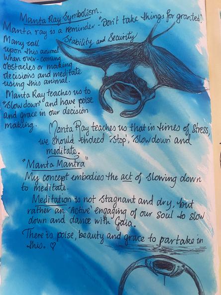 Journal Page - Manta Mantra