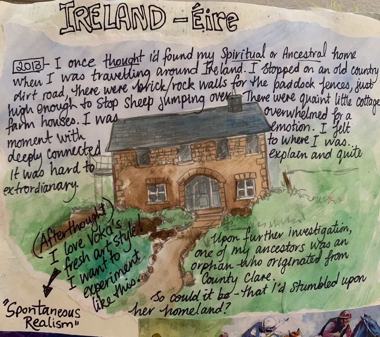 Journaling from Ireland