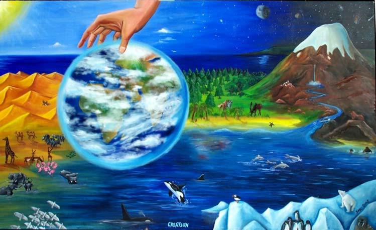 Creation Faith Painting