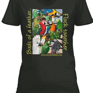 Parrot design #2 shirt
