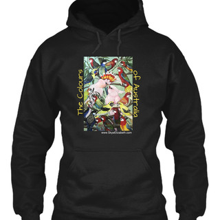 Parrot design #1 into a hoodie