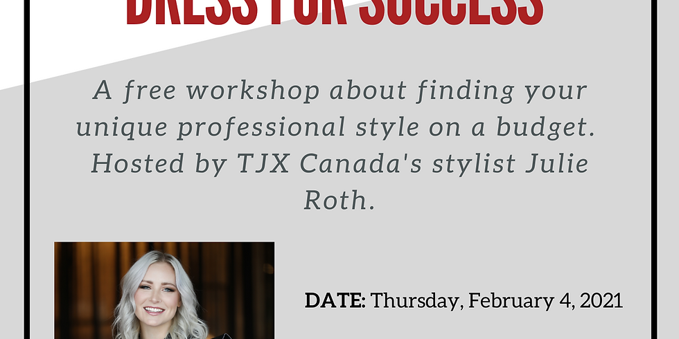 Find your Style and Dress for Success by TJX