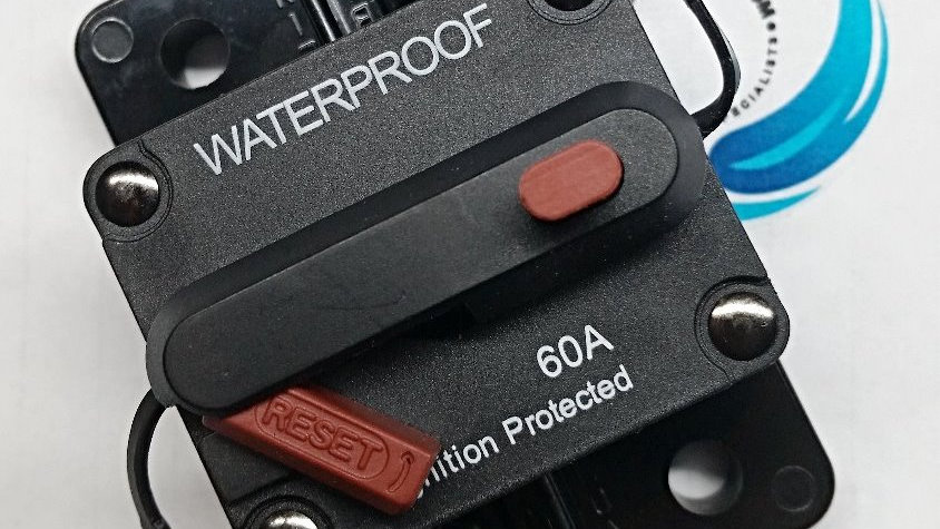 60amp Waterproof Re-Settable Circuit Breaker