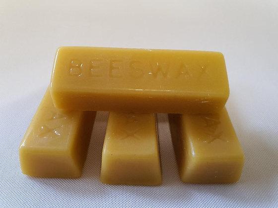 Pure Beeswax Bars.