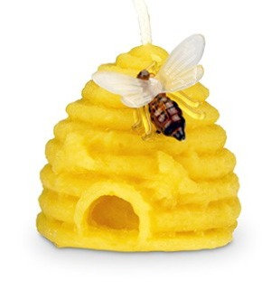 Pure Beeswax Skep Candle.