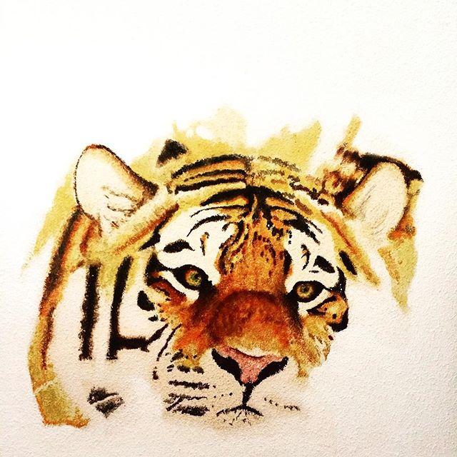 -tigre de pared