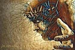Quadro Canvas Jesus