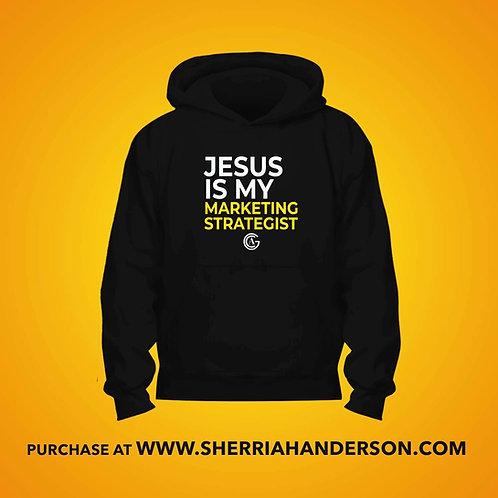 Jesus Is My Marketing Strategist Hoodie