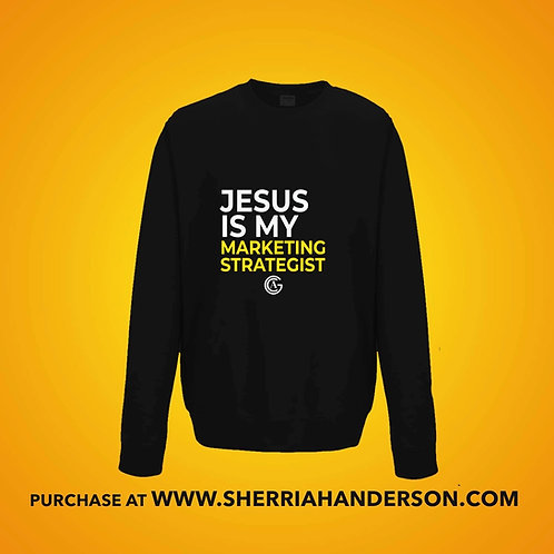 Jesus Is My Marketing Strategist Sweatshirt