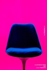 Pink Knoll Chairs