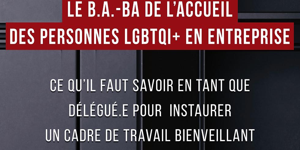 Webinaire: le B.A.-BA de l'accueil des personnes LGBTQI+ au travail