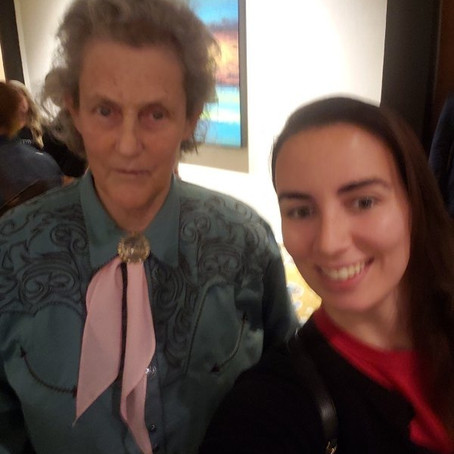 Meeting Temple Grandin and Anita Lesko