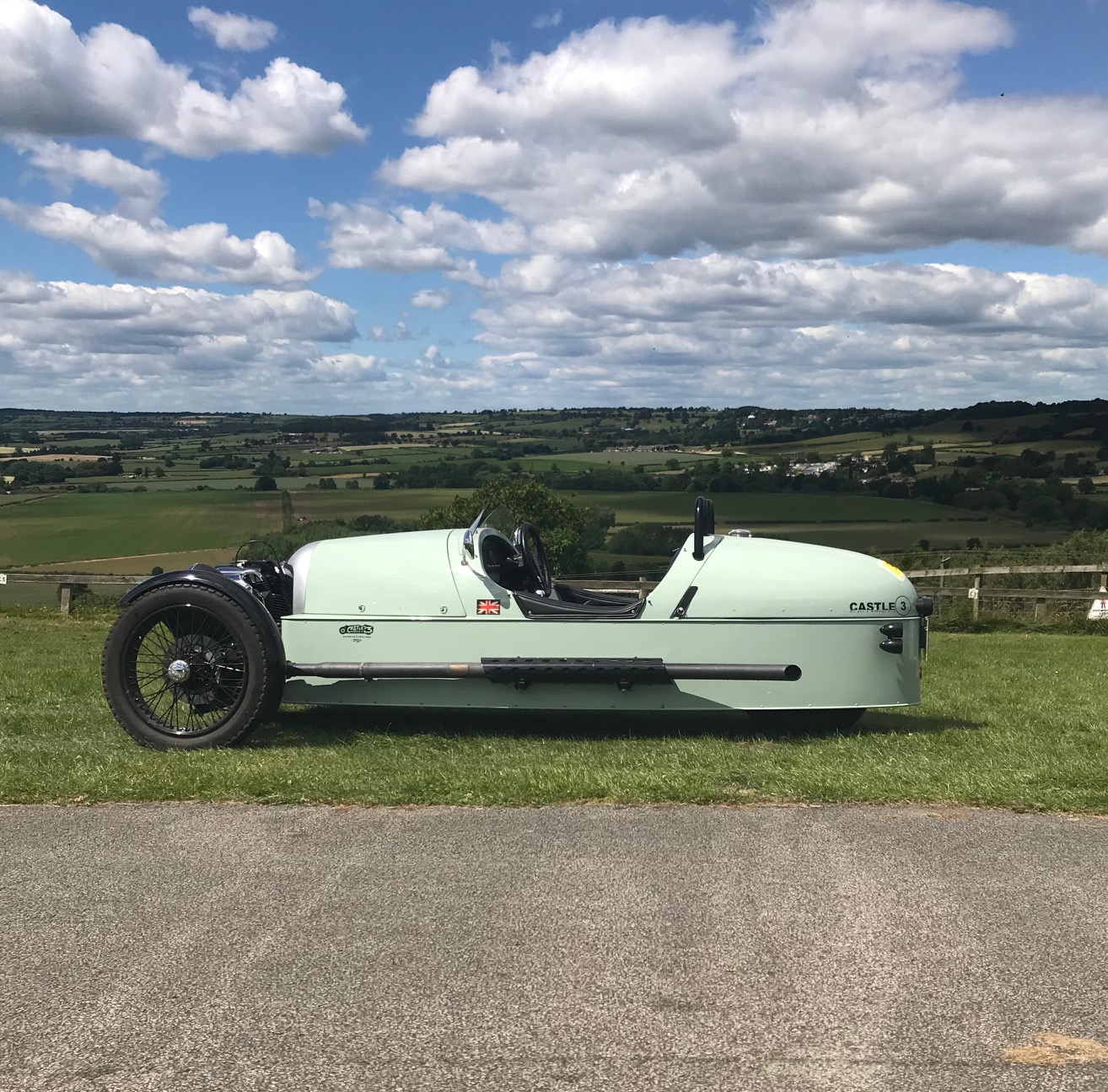 Morgan 3 Wheeler for hire
