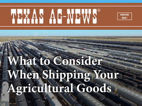 What to Consider When Shipping Your Agricultural Goods Multi-Modal &Transloading Options