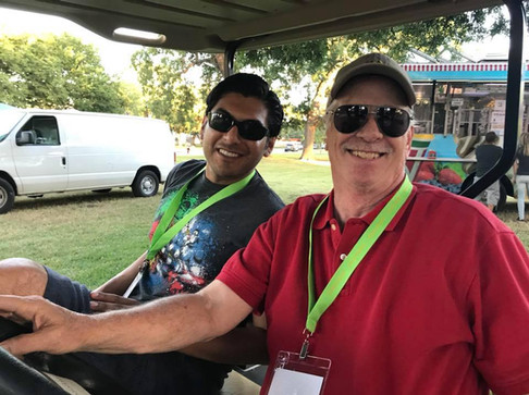 Volunteers at Sounds of Swenson