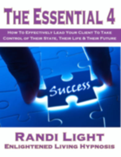 Essential 4 Training Manual for Hypnotherapists.