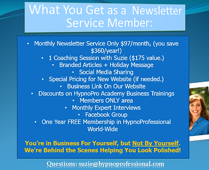 HypnoPro_Benefits_of_Newsletter_Service.