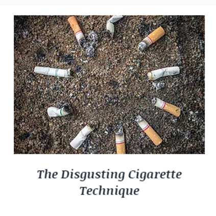 Stop Smoking with the Disgusting Cigarette Hypnosis Session