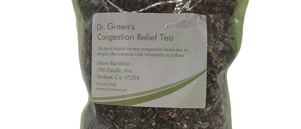Dr. Green's Congestion Relief Tea Blend