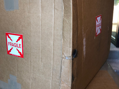 Fragile, This Side UP, Do not Stack