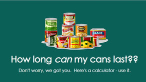 Can My Cans Last? Here's a Calculator!