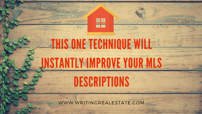 The One Best Technique To Instantly Improve Your Property Descriptions