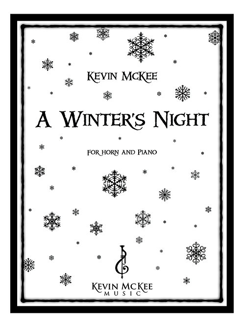 A Winter's Night (Horn) - Print Edition