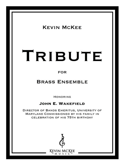 Tribute (Print Edition)