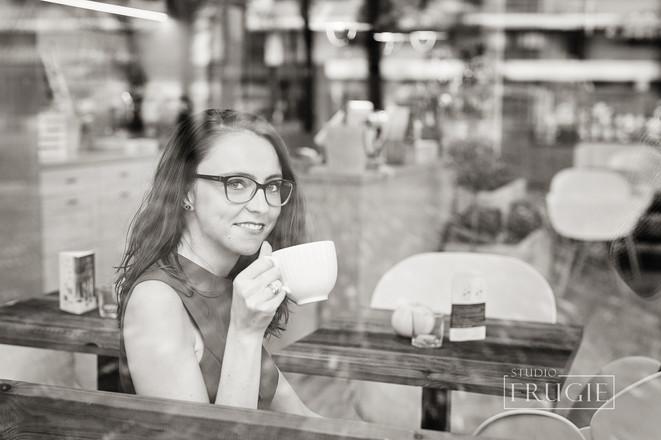 Sesja zdjęciowa w kawiarni Warszawa