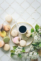 Coffee with Macaroons