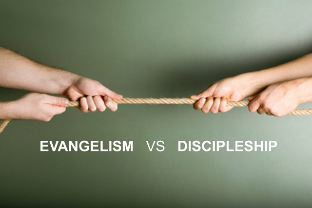 Saving the Lost, Discipling the Saved - Which Should We Do?