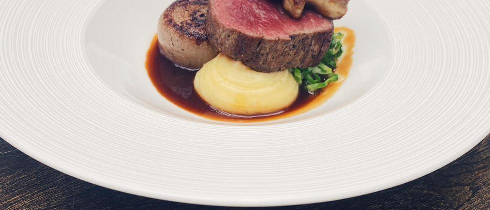 steak at the plough
