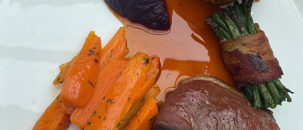 Roast beef at the plough