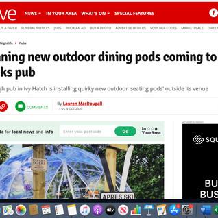 Kent live valentina dining pods