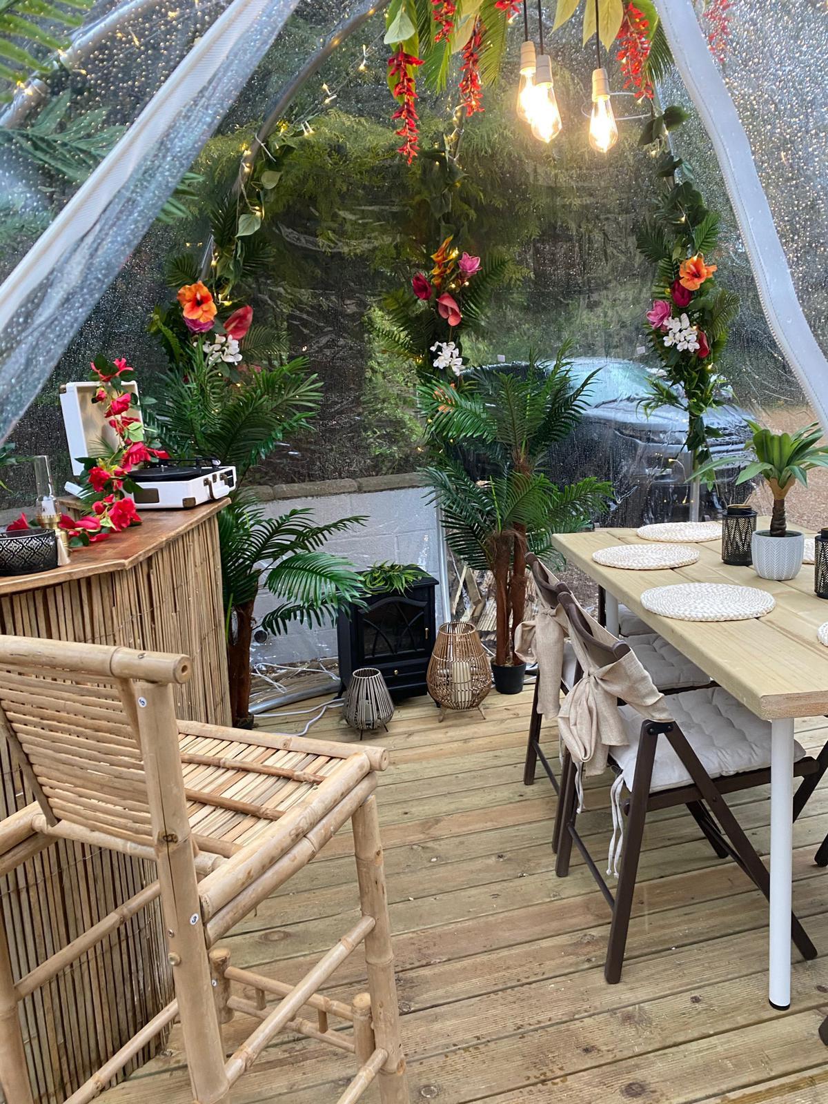 Tropical Tiki Garden (Tuesday -Thursday)