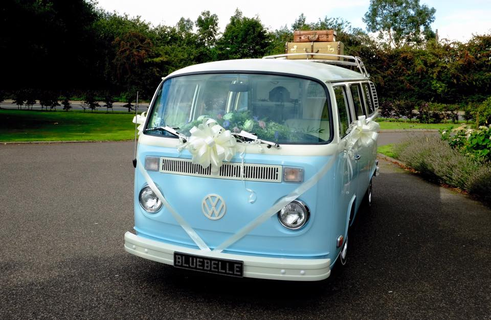 Campervan wedding car
