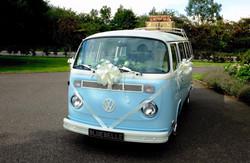 Campervan wedding car